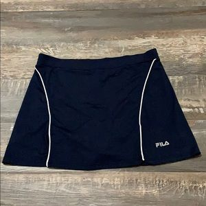 FILA cute skirt set with shorts nice condition
